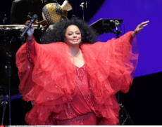 Diana Ross's 70th anniversary, on 26/03/2014.