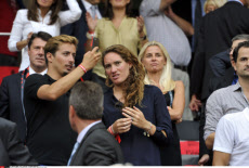 """Inauguration ceremony of the """"Allianz Riviera"""" stadium in Nice France"""