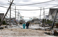 Superstorm Then and Now New Jersey