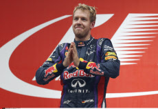 SEBASTIEN VETTEL WORLD CHAMPION