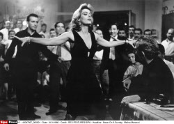Melina Mercouri's 20th anniversary of her death, on 06/03/2014.