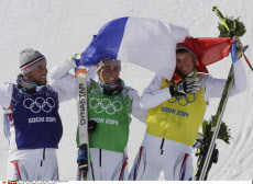 Ski Cross French Podium