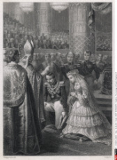 The marriage of Emperor Napoleon III