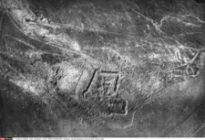 Aerial photograph of Fort Souville, France, WW1
