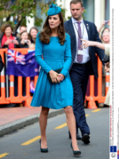 Prince William and Catherine Duchess of Cambridge visit Dunedin, New Zealand - 13 Apr 2014