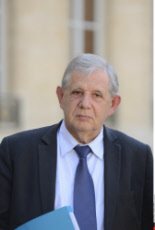 Paris: Baylet,  Schwartzenberg and Mezard leave at Elysee Palace