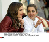 DUBAI:QUEEN RANIA OF JORDAN AT DUBAI JUMPING.