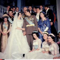 1962 - Juan Carlos of Spain & Sophia of Greece Weeding