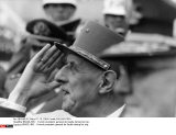 BRAZIL/RIO :  French president general de Gaulle during his trip.