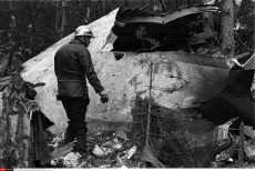 Ermenonville air disaster 40th anniversary on 03/03/2014.