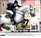 ASTURIAS,SPAIN:INTERNATIONAL JUMPING-PRS HAYA OF JORDAN