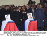 CHERBOURG / FRANCE : TRIBUTE TO THE ELEVEN FRENCH VICTIMS OF THE KARACHI SUI