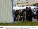 CHERBOURG - MAUPERTUS AIRPORT : BODIES OF VICTIMS OF KARACHI ATTACK ARE RAPATRIED