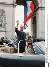 FRANCE : Investiture de Jacques Chirac
