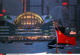 HONG KONG: HANDOVER: FIREWORK ORGANIZED BYCHINESE AUTORITIES