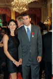 FRENCH FOOTBALL SOCCER TEAM DECORATED BY  THE PRESIDENT JACQUES CHIRAC: ZINEDINE