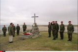 PRINCE CHARLES VISITS THE FALKLANDS ISLANDIN SOUTH AMERICA