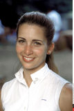 ITALIA: PRINCESS HAYA OF JORDAN DURING A HORSE COMPETITION