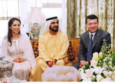 MIDEAST JORDAN EMIRATES WEDDING