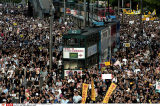 HONG KONG DEMOCRACY MARCH