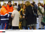 Paris :  French tourists arriving Roissy airport from the Maldives