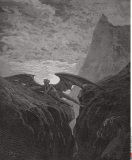 Satan Resting On The Mountain by Dore