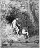 Adam & Eve In Paradise by Dore