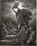 Moses Breaking the Tablets Of The Law by Dore