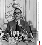 France, Paris : Jacques Chirac