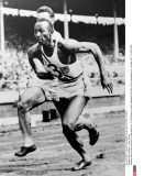 GB, Londres : Jesse Owens