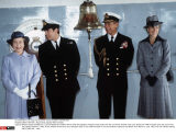 GREAT BRITAIN : Royal family aboard HMS Invincible