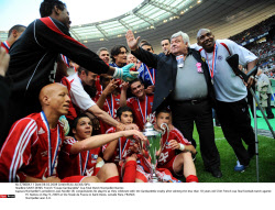 """SAINT-DENIS: French """"Coupe Gambardella"""" Cup Final Match Montpellier-Nantes"""