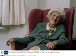 Millvina Dean who is now the only remaining  survivor of the Titanic disaster, New Forest, Britain - 06 Nov 2007