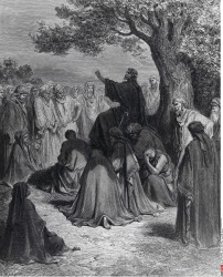 Jesus the Healer Gustave Dore (1832-1883 French)