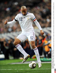 SAINT-DENIS: France's Captain Thierry Henry