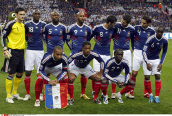 Soccer WCup Group A France
