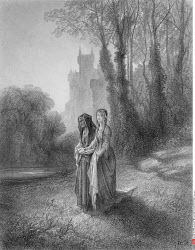 Enid and the Countess, by Gustave Dore, from Idylls of the King, (1832-1883)