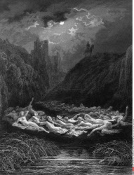 The Fairy Circle, by Gustave Dore, from Idylls of the King, (1832-1883), USA, Illinois, Chicago, Newberry Library