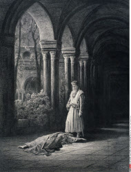 The King's Farewell, by Gustave Dore, from Idylls of the King, (1832-1883), USA, Illinois, Chicago, Newberry Library