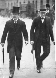 Lloyd George and Winston Churchill