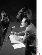 PARIS : Jacques Chirac en conference de presse