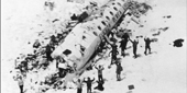 40th anniv. of uruguayan plane accident on the Andes, on October 13 1972.