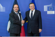 François Hollande in Brussels